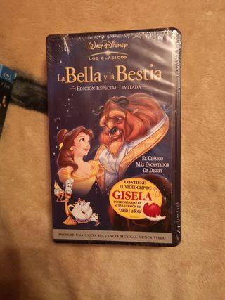 la bella y la bestia VHS coleccionistas nueva