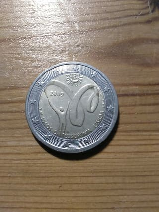 Monedas conmemorativas 2 euros de Europa