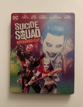Escuadrón Suicida Steelbook Blu-Ray