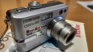 Cámara de fotos Pentax optio 60