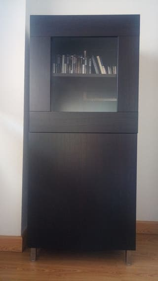 armario negro wengue