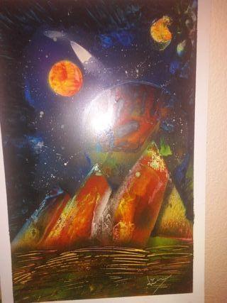 cuadro entre dos mundos estelar