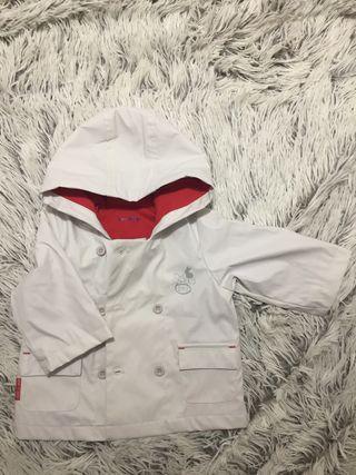 impermeable abrigo bebe 6 Meses, 67 cm NUEVO