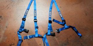 Cinturones arneses Sparco