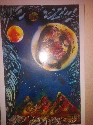 REGALA ARTE Lunar y universo