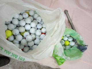Bolas de Golf.