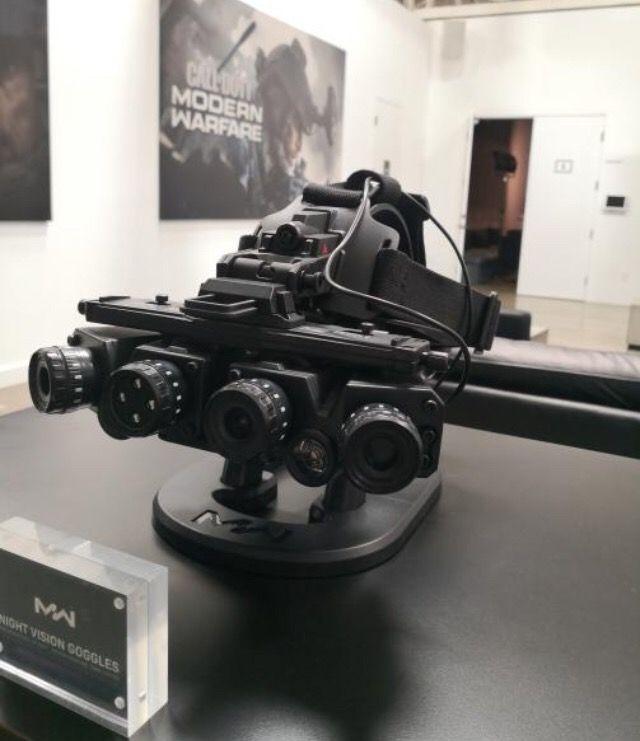 Gafas de vision nocturna modern warfare