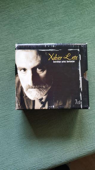 Colección CD Xabier Lete