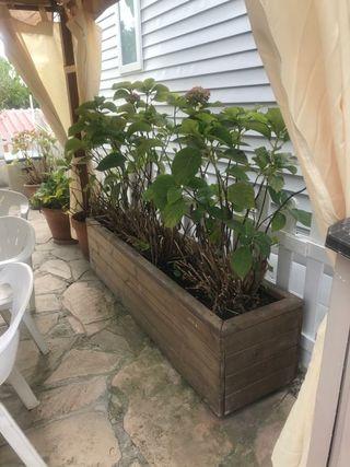 jardinera madera