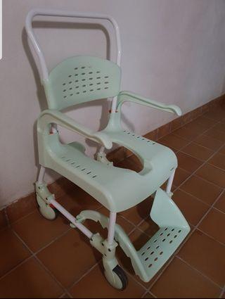 silla de ducha y wc clean étac