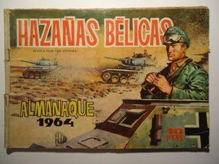 Hazañas Belicas Almanaque 1964 Ed. Toray 1958