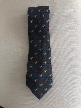 Corbata Seda Loewe. Serie Tauromaquia .