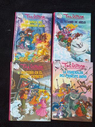 4 Libros Tea Stilton