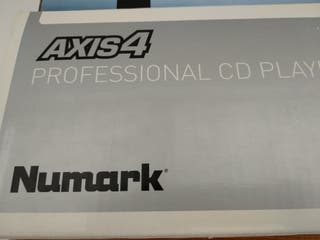 numark axis 4 professional cd player