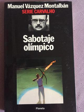 "Libro ""Sabotaje olímpico"" Manuel Vázquez Montalbán"