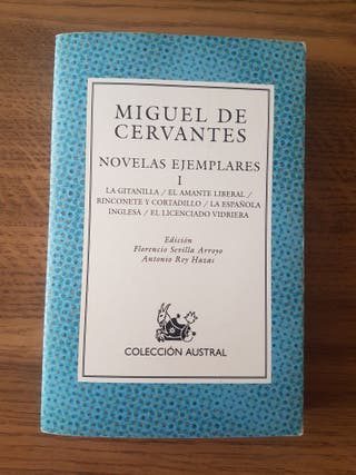 Libro Novelas Ejemplares I