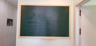 Pizarra verde de tiza, 100cmx150cm,perfecto estado
