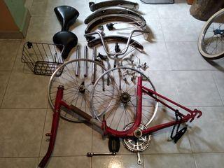 vendo accesorios bicicleta clasica