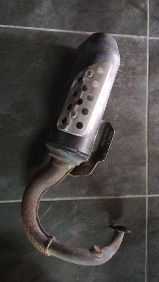 tubo escape Peugeot scooter 50
