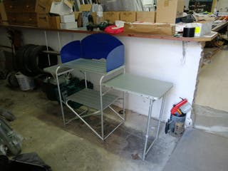 mueble cocina camping plegable