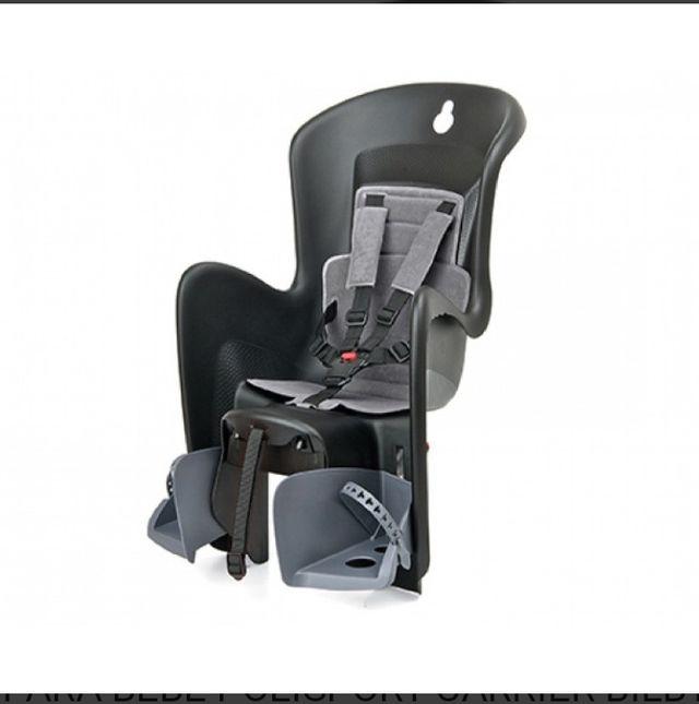 asiento portabebés para bicicleta