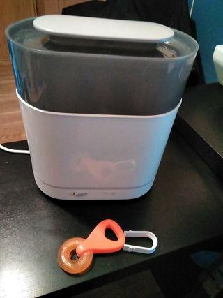 Esterilizador eléctrico de biberones AVENT-sin BPA