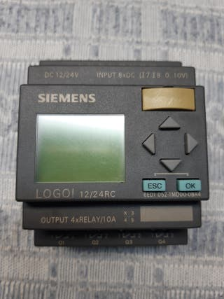 Autómata logo Siemens 12/24 RC