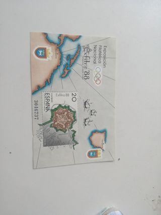 SELLO ESPAÑA 1988
