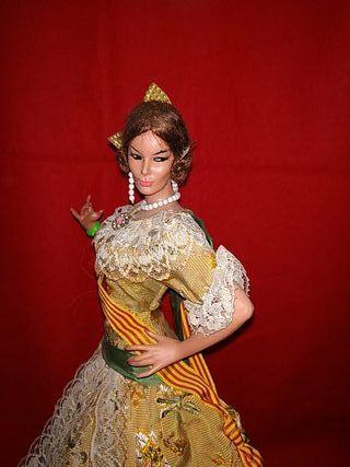 muñeca valenciana de Marín