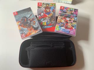 Funda con pack de accesorios de Nintendo Switch