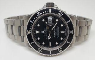 reloj Rolex Submariner vintage 168000 TRIPLE ZERO.