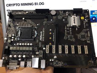 PLACA BASE ASROCK H110 PRO BTC+, INTEL, DDR4