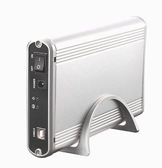 """Caja externa para discos duros IDE y SATA de 3.5"""""""