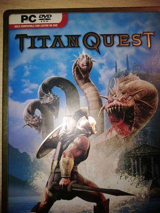 juego pc titan quest