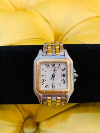 Reloj Cartier oro