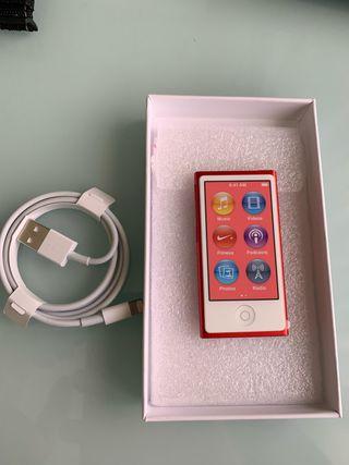 ipod nano 7ma gen 16gb (red product)