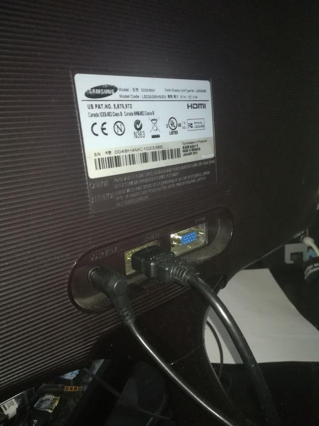 monitor Samsung SA350 syncmaster LED VGA Hdmi 1080
