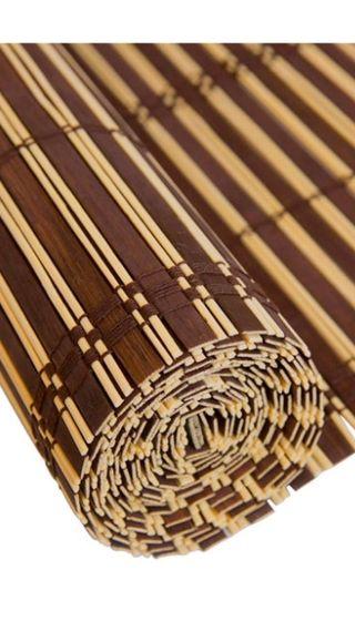 Estore persiana enrrollable bambú