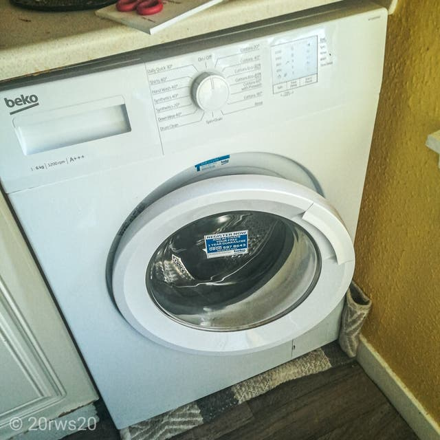 beko 6kg 1200 A+++ washin machine new guarantee