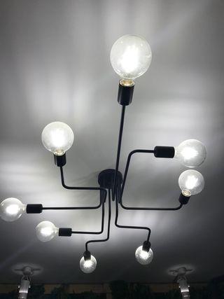 Lámpara techo industrial