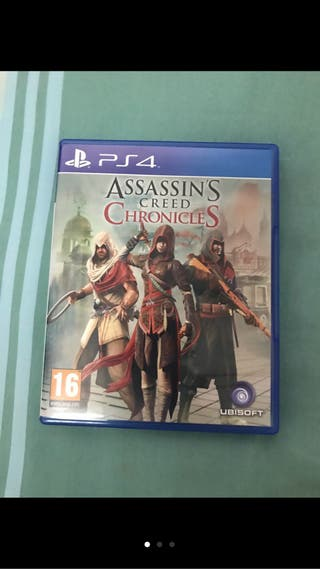 Assassins creed cronicles ps4