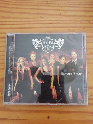 CD REBELDE Nuestro Amor