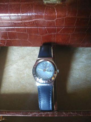 Reloj Swatch mujer pulsera azul