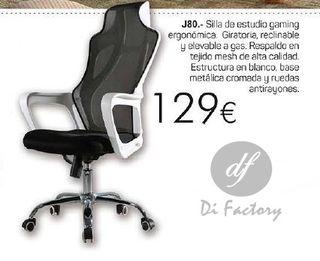 Silla de estudio gaming ref. J80