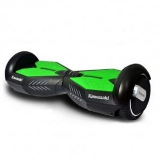 Patin hoverboard kawasaki con coche adaptable