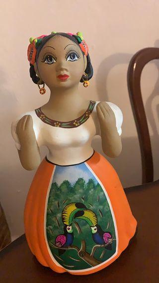 Muñeca cerámica