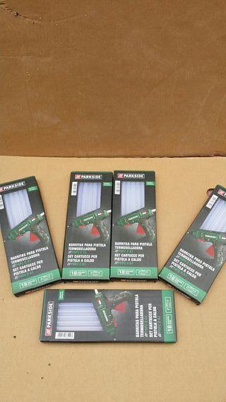 5 paquetes de barras de cola caliente o silicona