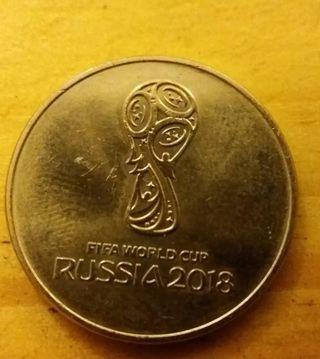 Moneda Mundial Rusia 2018