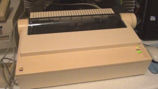 Impresora de coleccionista--Apple ImageWriter II