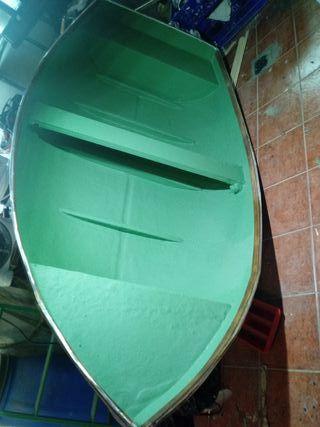 barca de fibra con motor